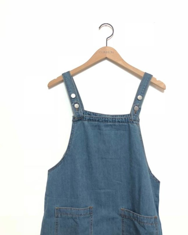 DENVER DENIM DRESS DARK
