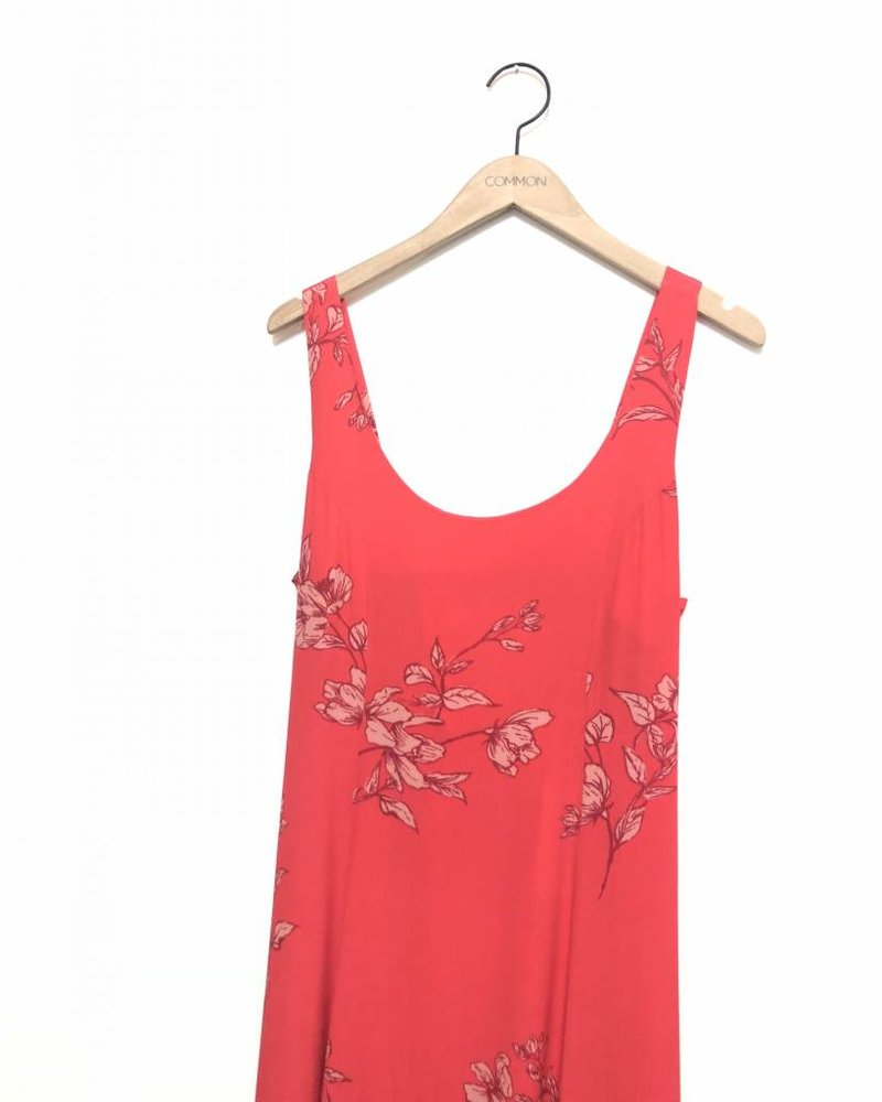JESS FLORAL MAXI DRESS RED