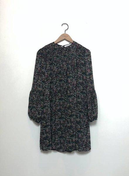 NIA FLORAL BABYDOLL DRESS