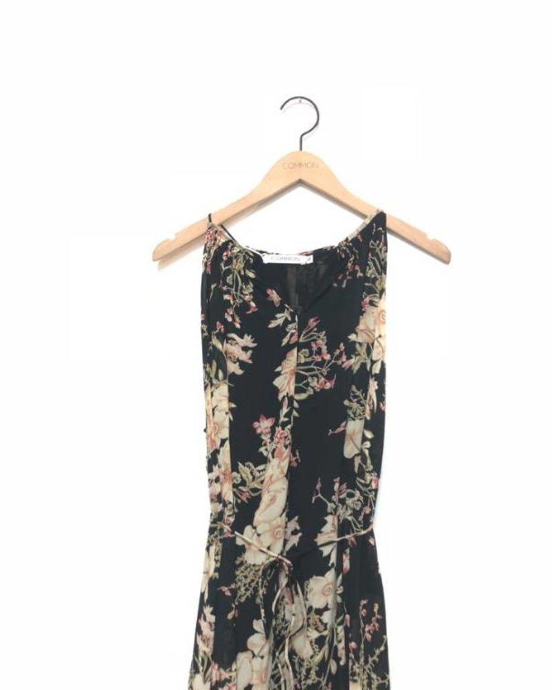 PAULA FLORAL MOCKNECK DRESS