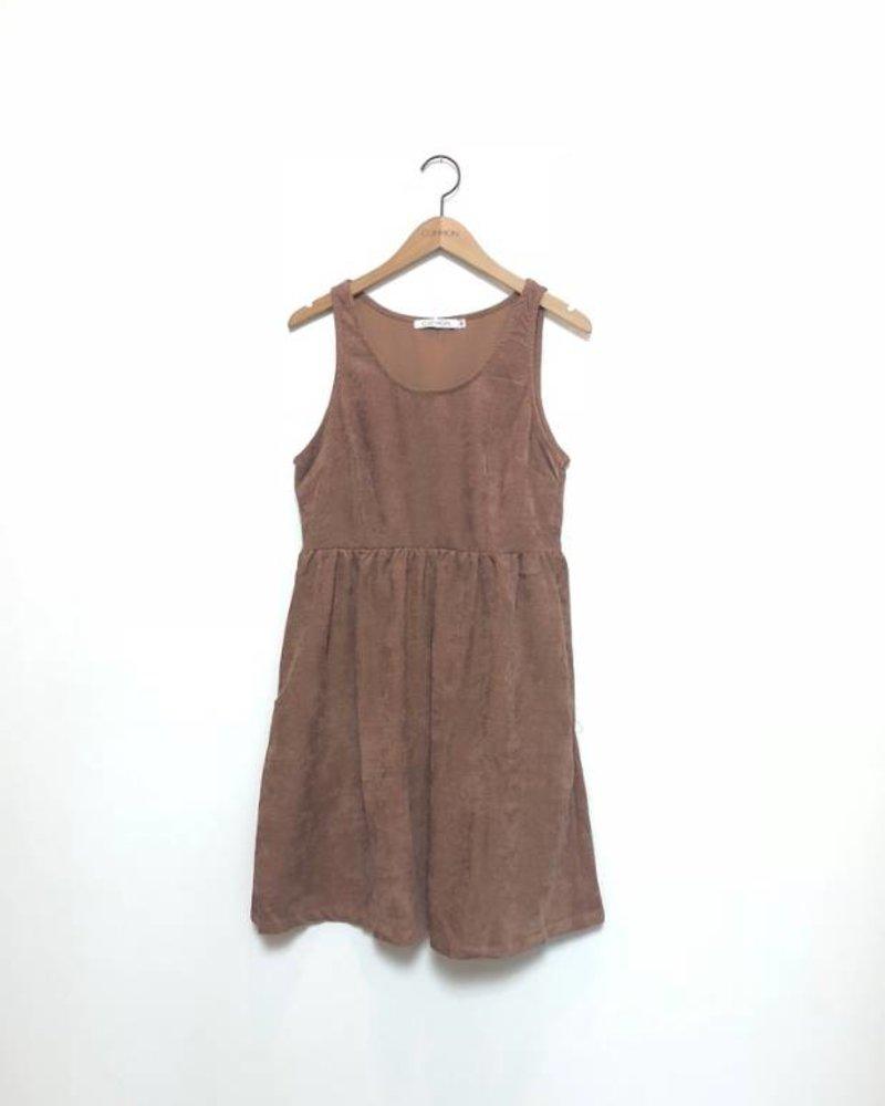 MCKAYLA CORDUROY DRESS