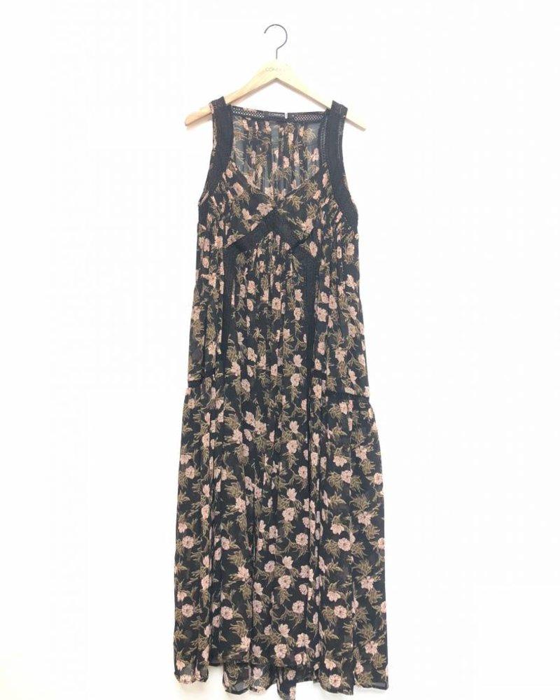 ROXY FLORAL MAXI DRESS