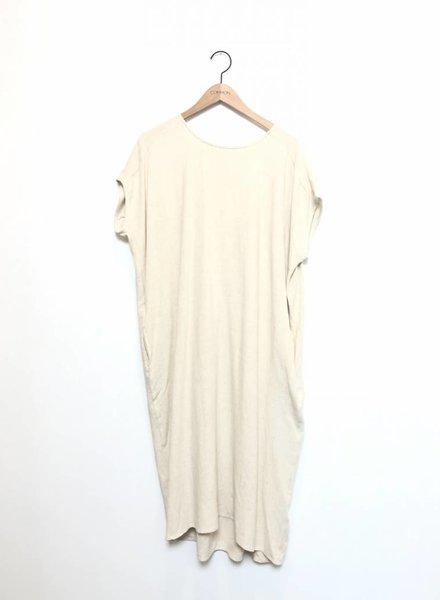 CHRISSY TUNIC DRESS NAT