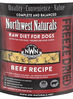Northwest Naturals Freeze Dried Diets for Dogs 12 oz (Multiple Flavors)