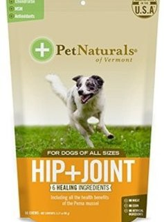 Pet Naturals of Vermont Hip + Joint for Dogs 60 CT