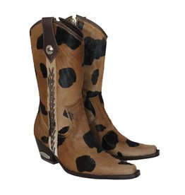 Telluride Brown + Black Cowboy Boot