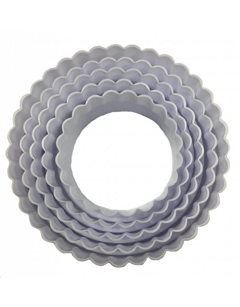 Round Cake Pans With Cutter