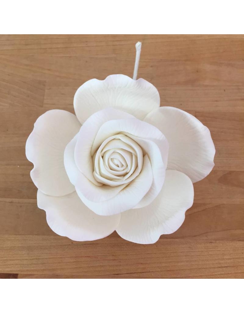Rose gold queen rose white sugar flower rose gold queen rose white sugar flower mightylinksfo