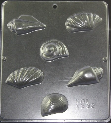 Chocolate Sea Shells Mold 1333 Ecakesupply Ecakesupply