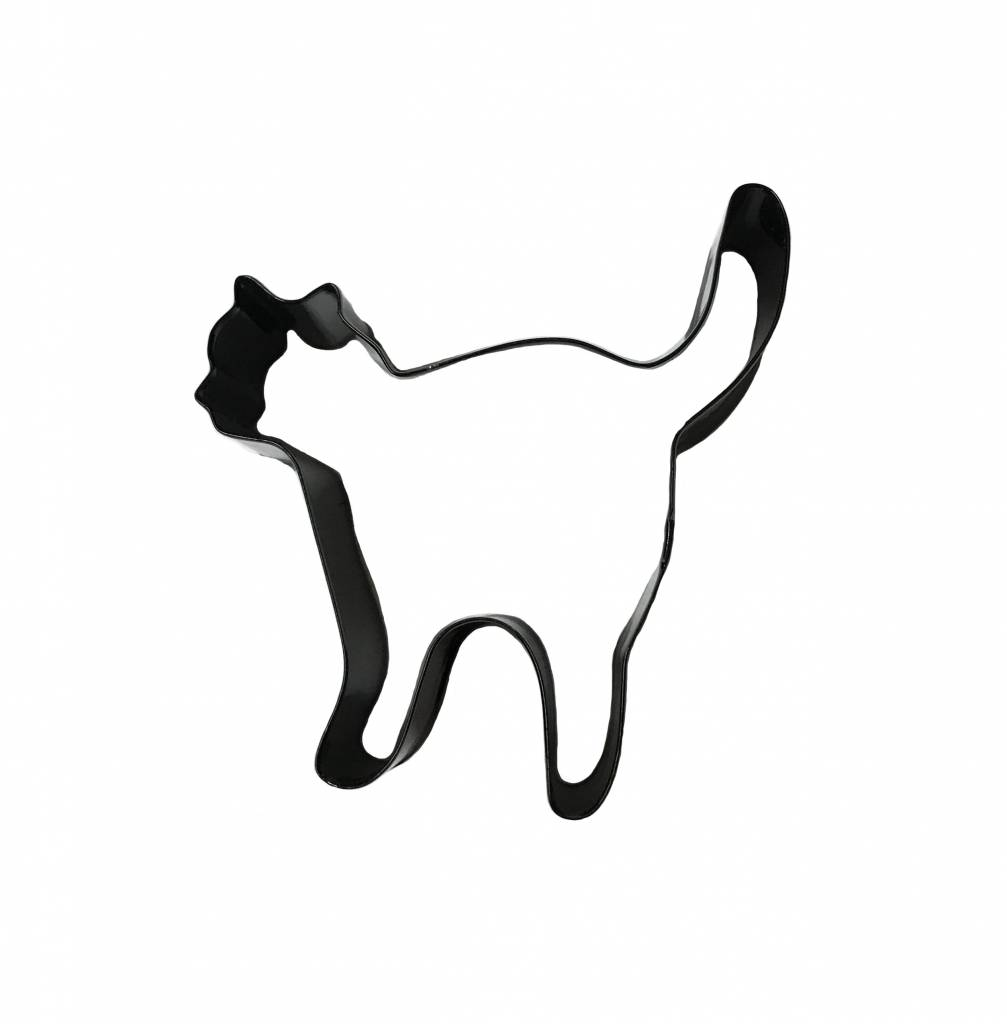 3 Quot Black Cat Cutter Ecakesupply Ecakesupply