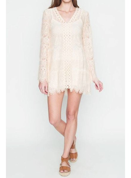Crochet Lace Tunic Top