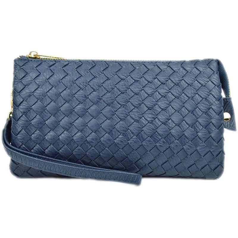 Woven Crossbody Bag
