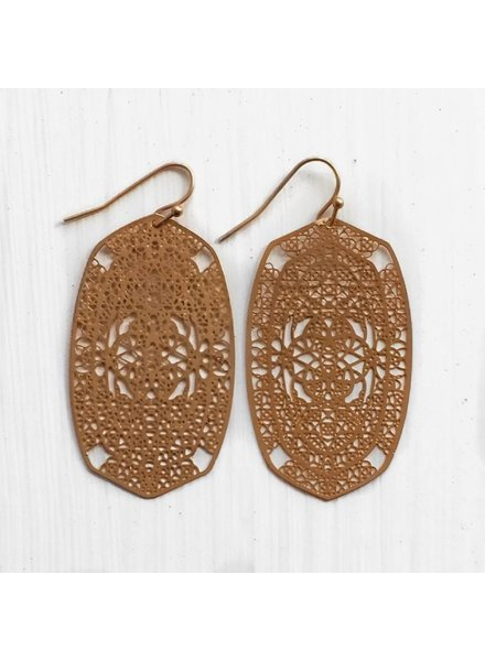 Filigree Design Earrings