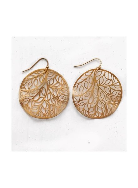 Leafy Branches Earrings