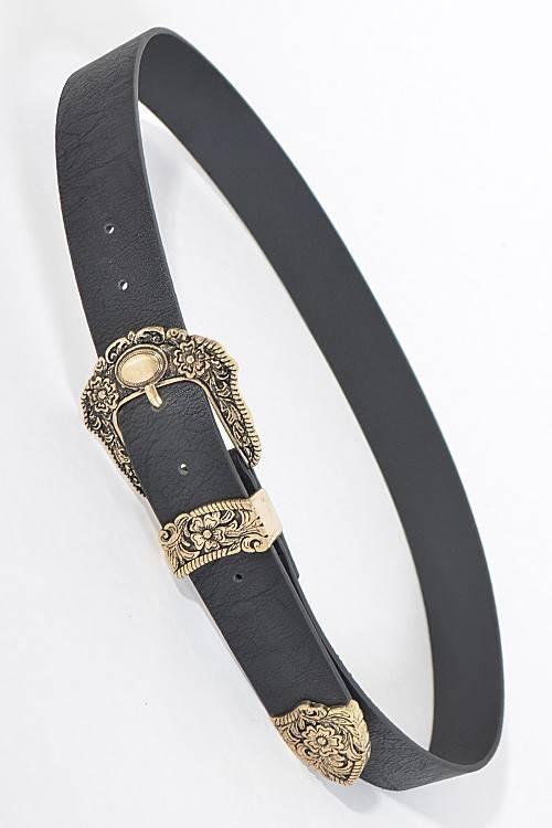 Antique Flower Belt