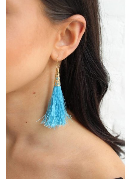 Festival Tassel Earrings