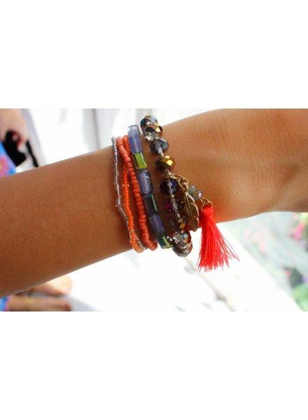 Feather Tassel Bracelet