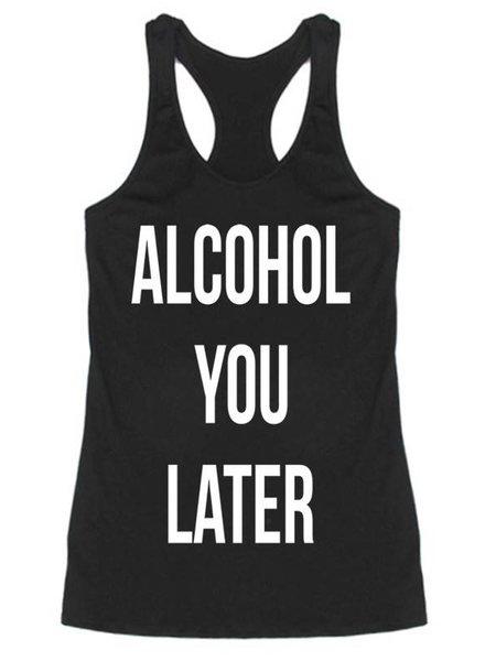Alcohol Tank Top