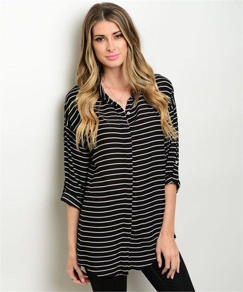 Shoptiques Striped Summer Tunic