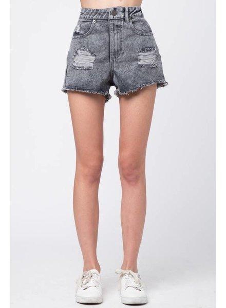 Shoptiques Valerie Distressed Shorts