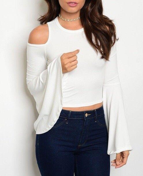 Shoptiques Ava Bell Sleeve Blouse