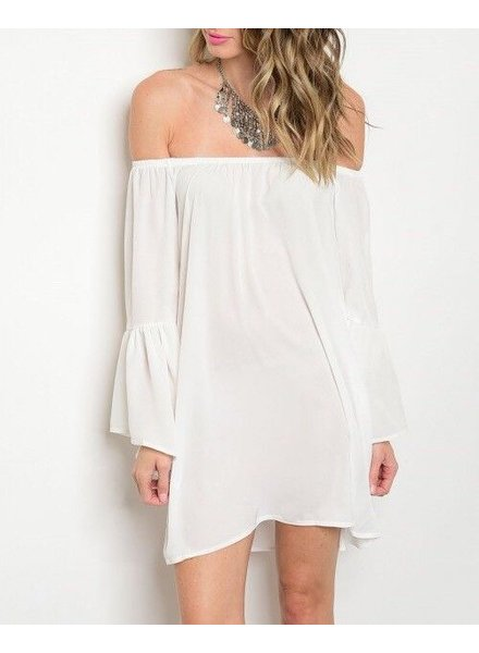 Shoptiques Luna Off Shoulder Dress