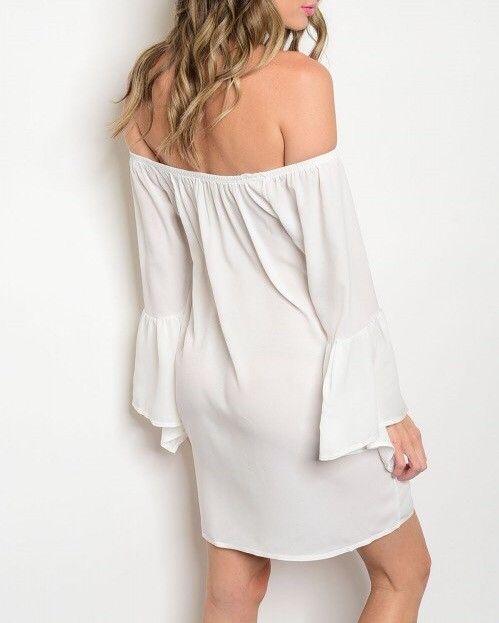 Shoptiques Luna Off Shoulder Dress