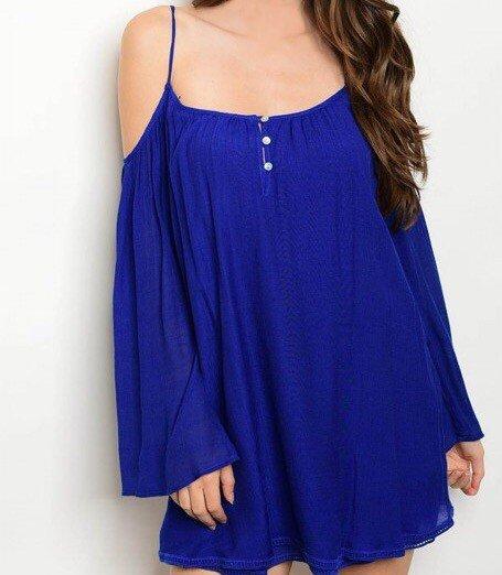 Shoptiques Lauren Cold Shoulder Dress