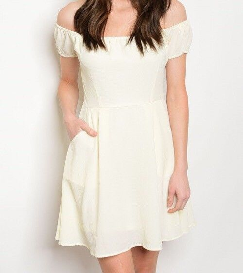 Shoptiques Sweet Dee Off Shoulder Dress