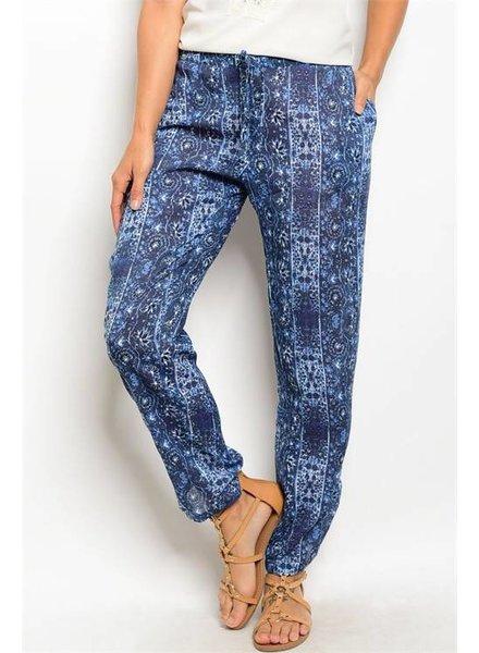 Shoptiques Arabian Nights Print Trousers