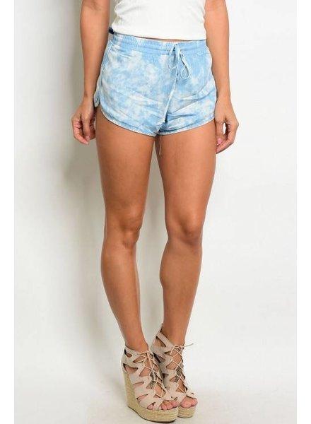 Shoptiques Lena Tie Dye Shorts