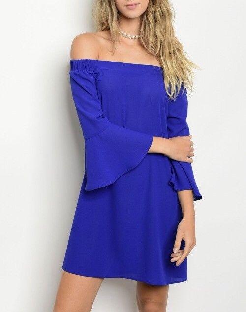 Shoptiques Norma Off Shoulder Dress