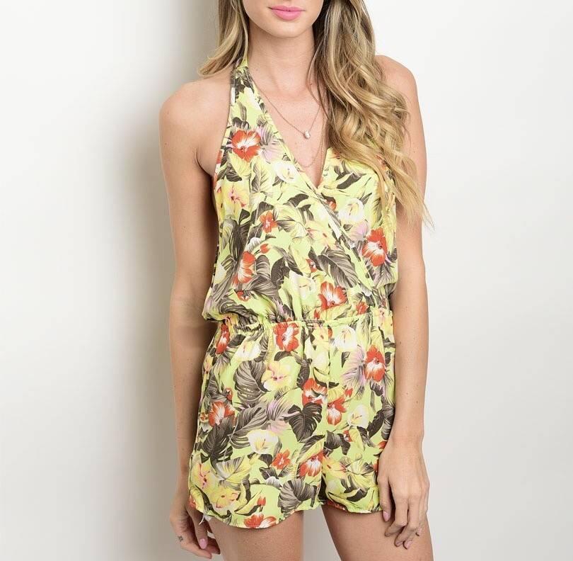 Shoptiques Nidya Tropics Romper