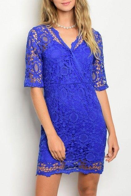 Shoptiques Kinsie Crochet Cocktail Dress