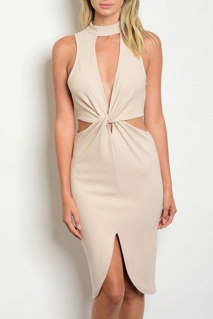Shoptiques Quinn Twist Knot Dress