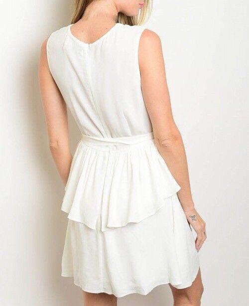 Shoptiques Double Layer Wrap Dress