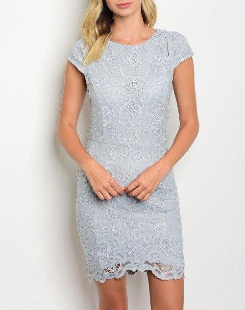 Shoptiques Cap Sleeve Lace Dress