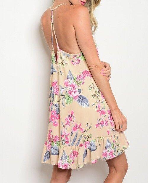 Shoptiques Ruffle Bottom Island Dress