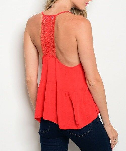Shoptiques Rosebud Embroidered Tank