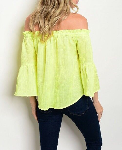 Shoptiques Gauzey Off Shoulder Blouse