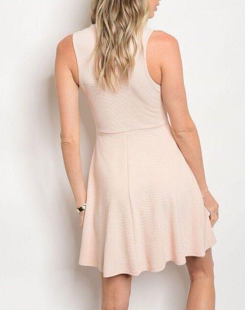 Shoptiques Choker Skater Dress
