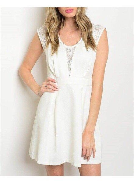 Shoptiques Lace Back Party Dress