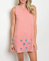 Shoptiques Shake Your Pom Pom Dress