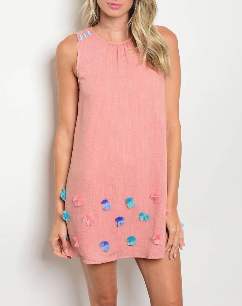 Shoptiques Shake Your Pom Pom Dress