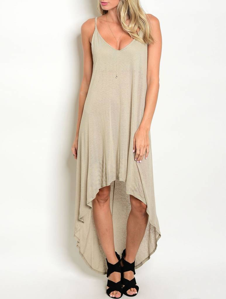 Shoptiques Au Naturale Hi-Low Dress