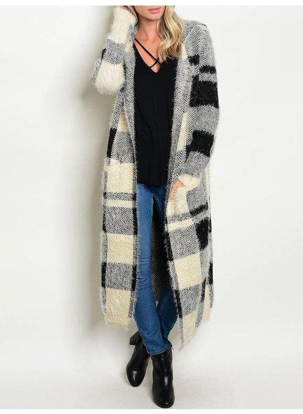 Shoptiques Fluffy Sweater Cardigan