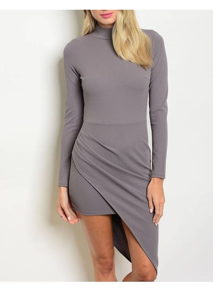 Shoptiques Mock Neck Dress