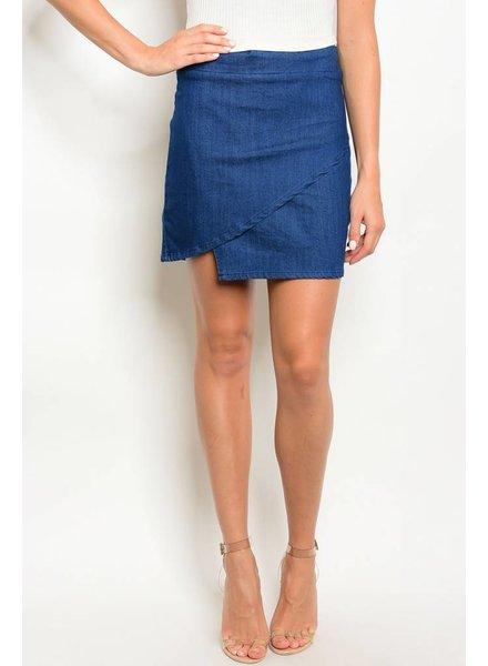 Shoptiques Chasity Denim Skirt