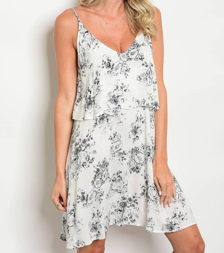 Shoptiques Flower Layer Dress