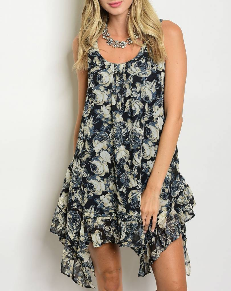 Shoptiques Melody Floral Dress
